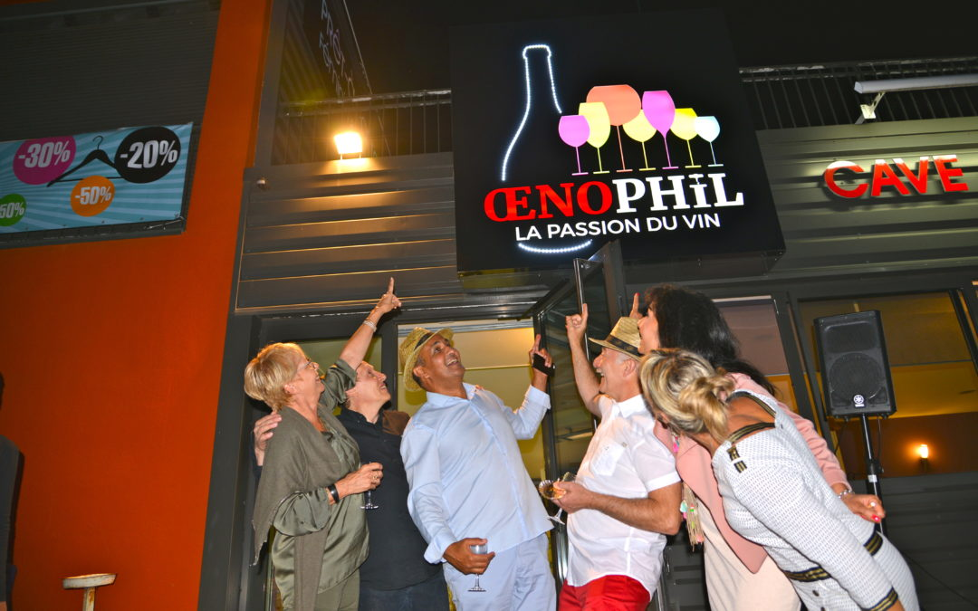 INAUGURATION D' ŒNOPHIL